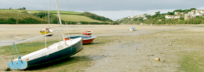 The Gannel Estuary at Newquay